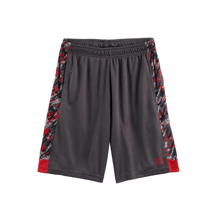 Boys 8-20 RBX Closed H Shorts, Boy's, Size: L(14/16), Grey