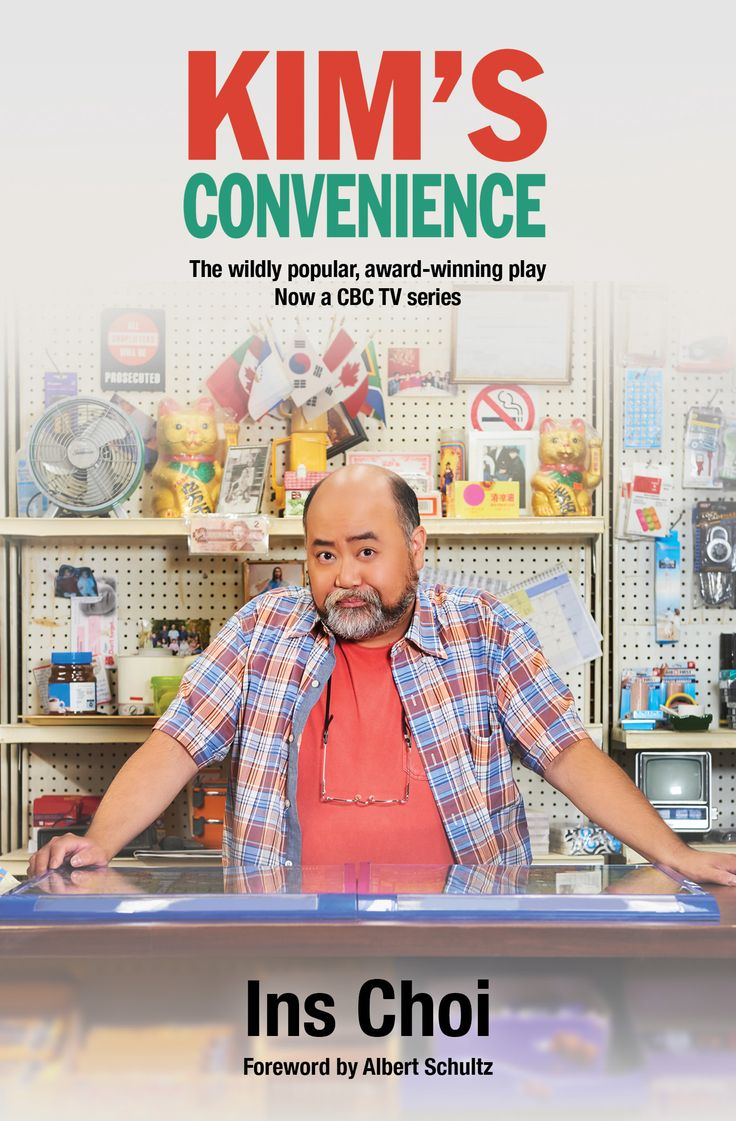 What more to say?  Great play.  Great new TV show on CBC.  Learn more at House of Anansi Press: http://houseofanansi.com/products/kims-convenience