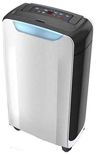 Futura Dehumidifier 12 Litre with Ioniser, Clothes Drying Function and 24Hr Timer Portable & Compact Ideal for Home or Office