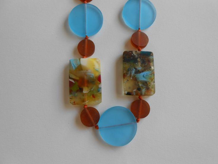 resin necklace by homework homewares