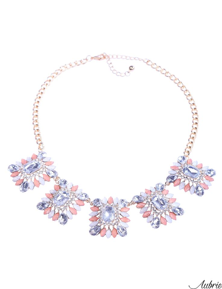 #aubrie #aubriepl #aubrie_necklaces #necklaces #necklace #jewelery #accessories #millesant #pastel #colorful #shine #crystal