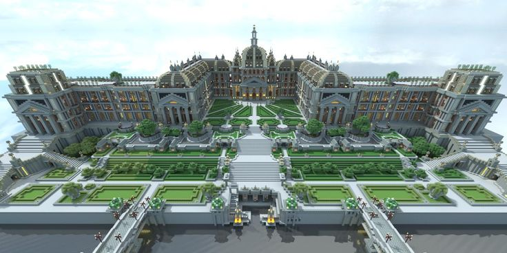 Summer Minecraft Palace