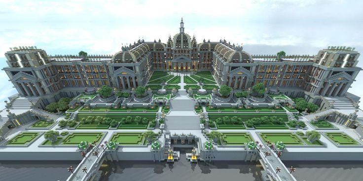 Summer Minecraft Palace.......OH MY GOD THAT HAD TO TAKE FOREVVVVVVERRRRRRRRRRRRRR.