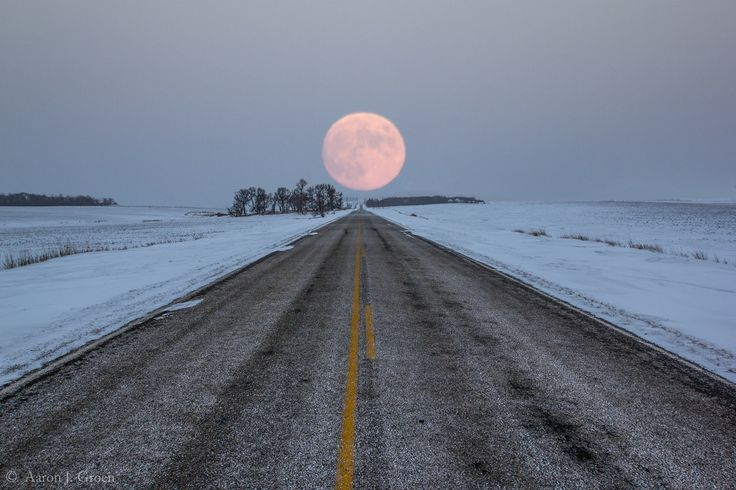 Highway To The Moon by Aaron J. Groen