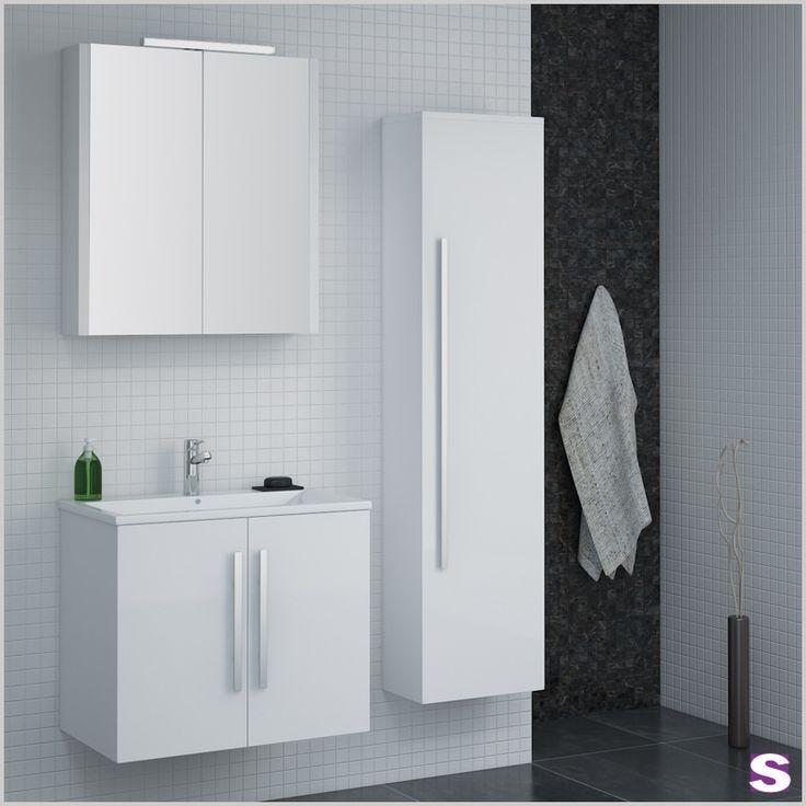 35 besten Badmöbel Bilder auf Pinterest Badewannen, Barrierefrei - badezimmer spiegelschrank mit beleuchtung g nstig