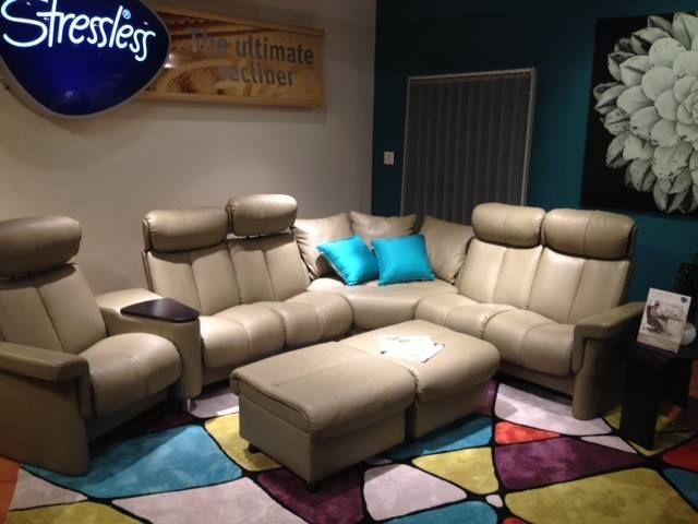 stressless legend sectional hpmkt high point market. Black Bedroom Furniture Sets. Home Design Ideas