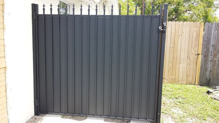 After - Exterior Aluminum Gate