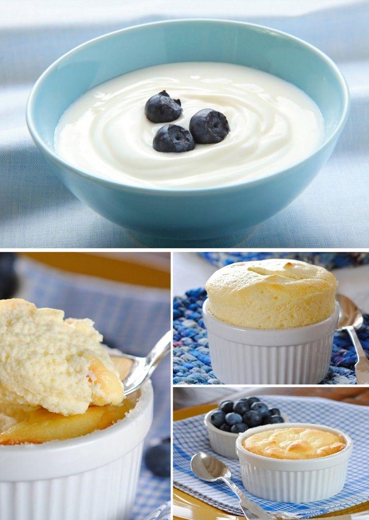 Receita Light da Semana: suflê de iogurte grego zero | Território Animale