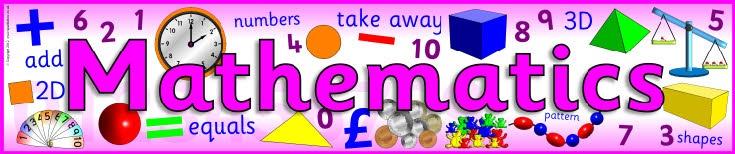 Mathematics display banner (SB31) - SparkleBox