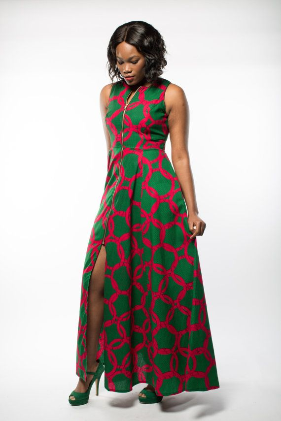 NEW  Maria maxi dress in Green by GITAS Portal