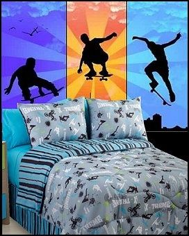 Best 20 sports bedding ideas on pinterest boys sports for Extreme bedroom designs