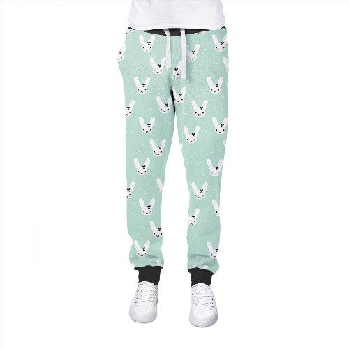 41.99$  Watch now - http://viswt.justgood.pw/vig/item.php?t=67jy1pr12932 - Bunny Bow Mint Womens Jogging Pants