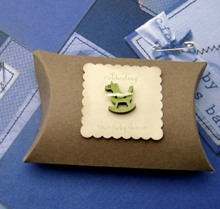Baby Shower Favors - Rocking Horse