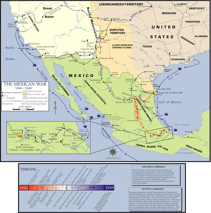 84 Best Mexicanamerican War Images On Pinterest Books Branches: Texas And Mexico War Map At Usa Maps