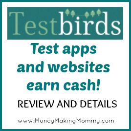 Love the idea of testing products? Make some extra cash testing apps! #workathome