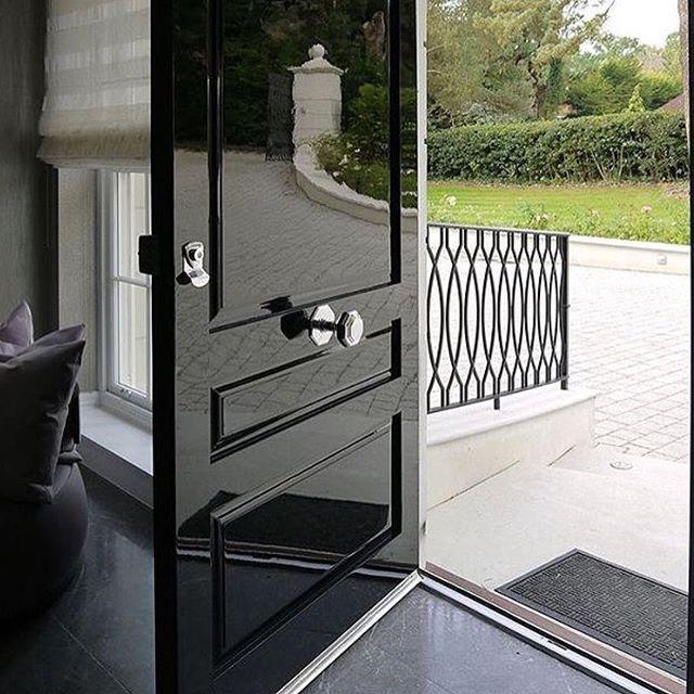 Black Front Door Knobs best 25+ silver door handles ideas only on pinterest | diy keyhole