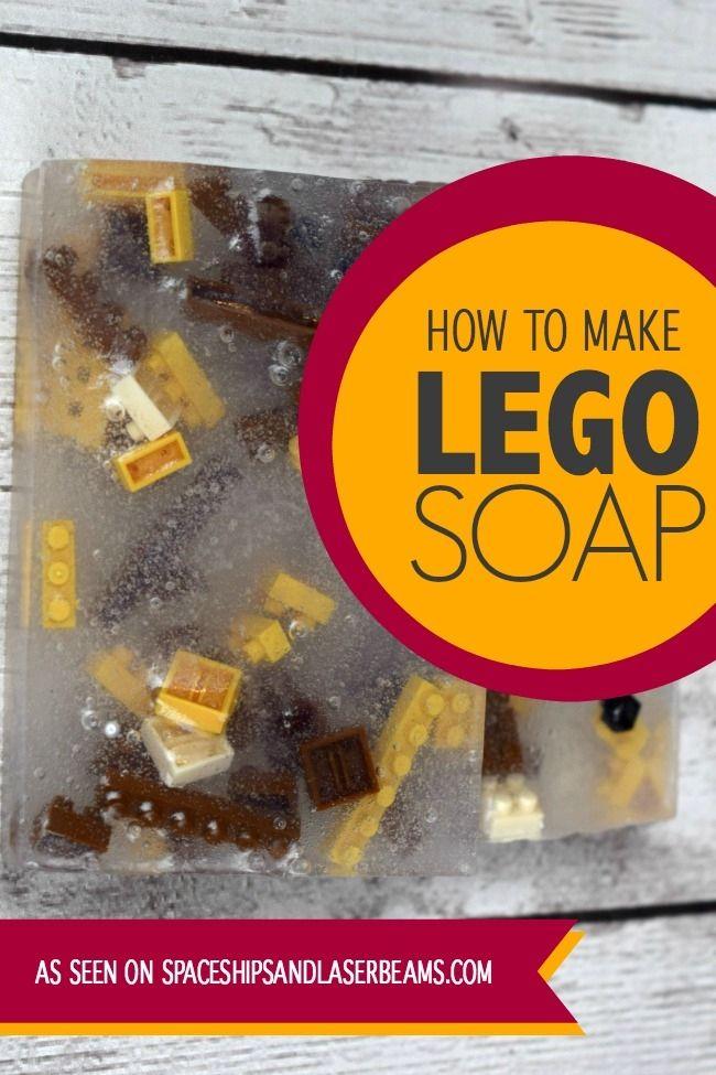 Lego Soap - http://spaceshipsandlaserbeams.com/blog/2015/02/party-crafts-and-diy/how-to-make-homemade-lego-soap?utm_source=simplystacie.net&utm_medium=referral&utm_campaign=pubexchange