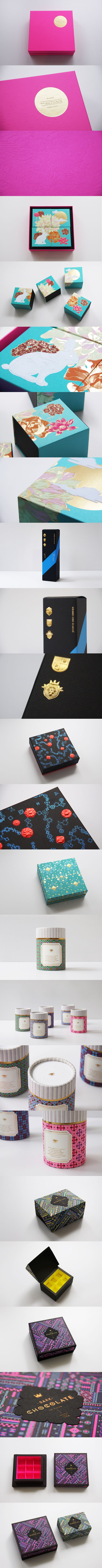 Astrobrights Packaging by  Ken Lo. Look at the embellishments on this #packaging PD