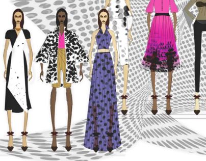 """Check out new work on my @Behance portfolio: """"Fashion Rendering"""" http://on.be.net/1D3UYJz   #Illustration #Fashion  #Africa"""