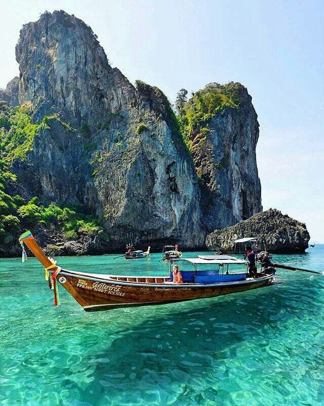 Amazing Boat Thailand Travel Best Places To Travel Thailand Phi Phi Island