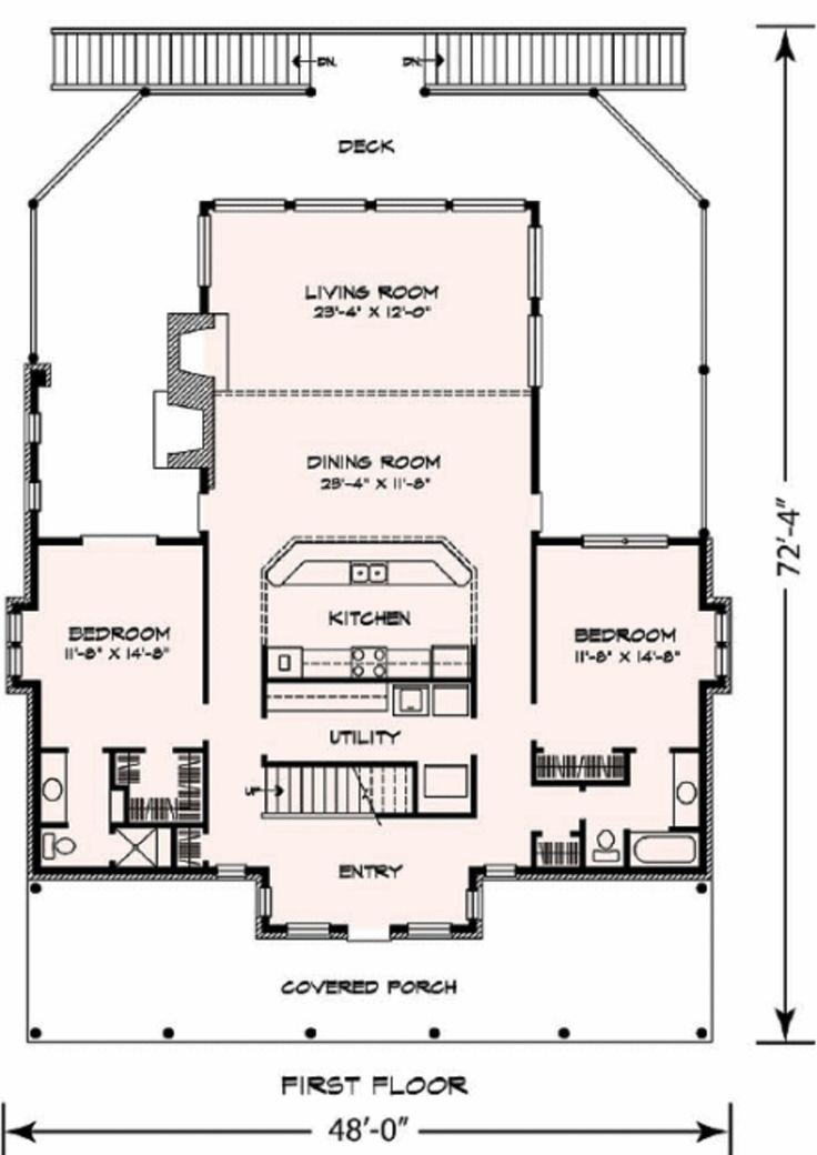 25 best ideas about condo floor plans on pinterest sims for Country open floor plans