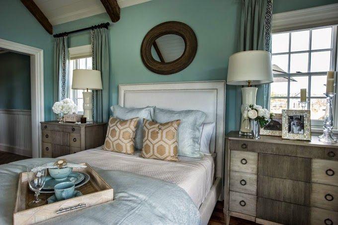 master bedroom in the HGTV Dream Home 2015