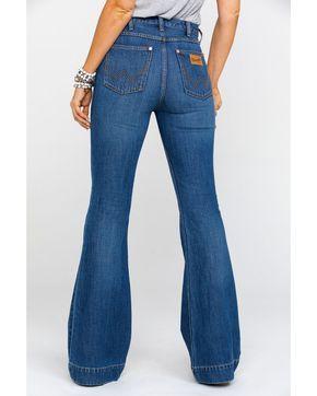 Wrangler Women's Midtown High Rise Med Trouser Jeans