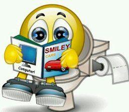Potty smile