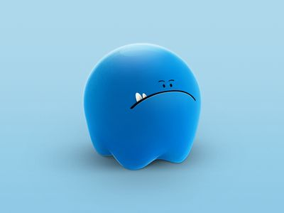 Lil Blue Monster