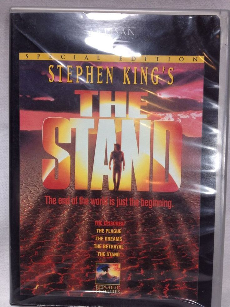 Stephen Kings The Stand special edition DVD 1994 2-disc with insert