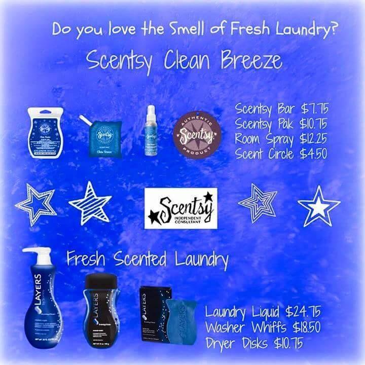 #Scentsy #gorgeous scents #Glorious Scents   #memories #fresh #clean laundry #ocean breeze