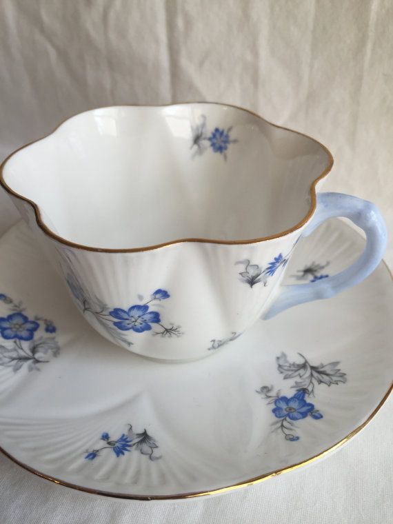 Vintage Shelley Fine Bone China Tea Cup and by ViolasValuables