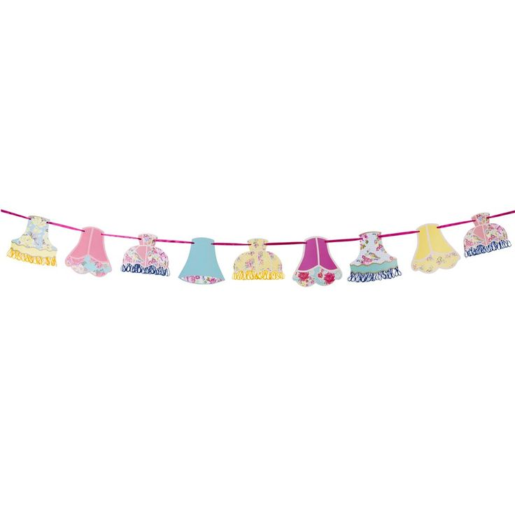 Truly Scrumptious Lampshade Garland   Talking Tables