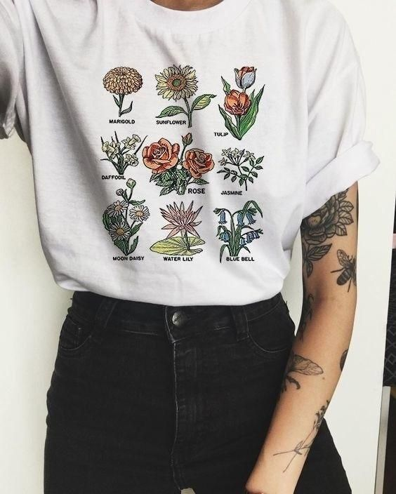 5dac0d0da Floral Banquet T-Shirt | Fashion and Beauty in 2019 | Aesthetic ...