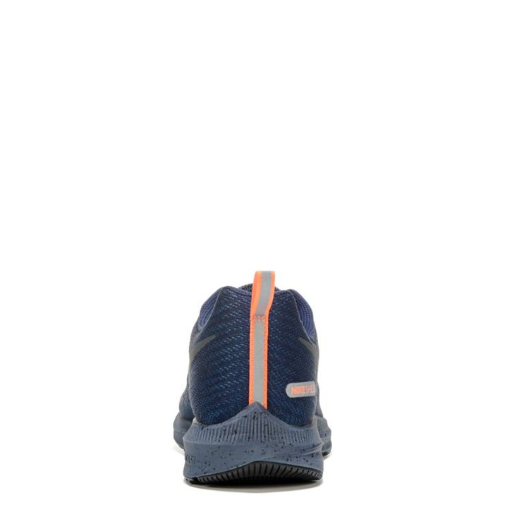 Nike Men's Nike Zoom Winflo 4 Shield Running Shoes (Navy/Orange)