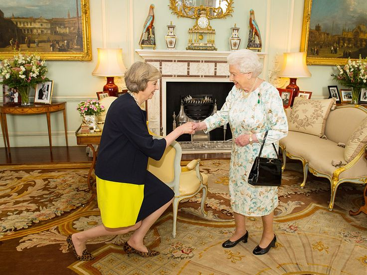 Ladies Who Rule! Theresa May Becomes New British Prime Minister After Her First Meeting with the Queen