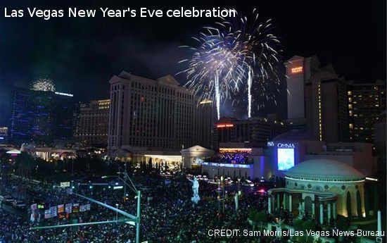 New Years Eve Fireworks Las Vegas