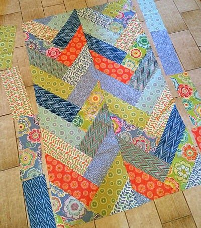 My Quilt Infatuation: Bold Braid Quilt, tutorial