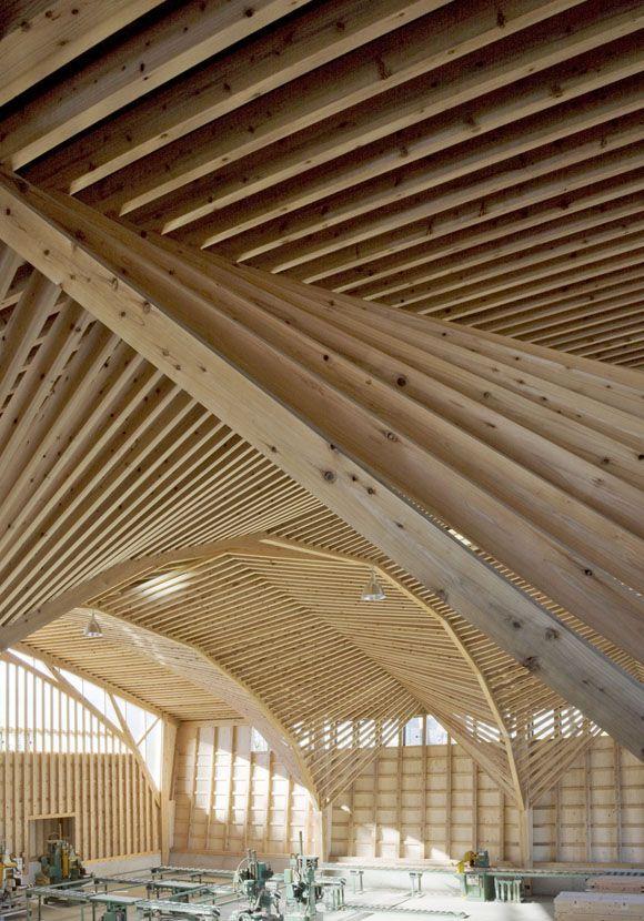 Kitazawa Kenchiku Factory - Fumiko Misawa + Masahiro Inayama #wood #structures #estructuras #madera