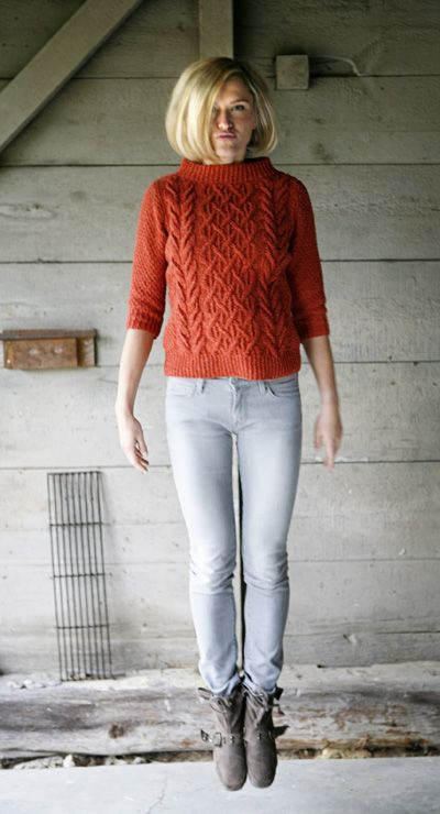 Beatnik boat-neck pullover: Knitty Deep Fall 2010 -- would love this in ivory & longer looser