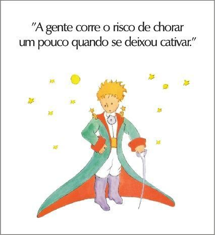 Frases - Frases do Pequeno Principe                              …