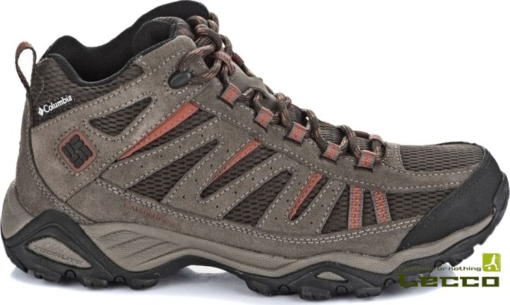 Мужские ботинки Columbia North Plains Mid WP Cordovan/Cedar