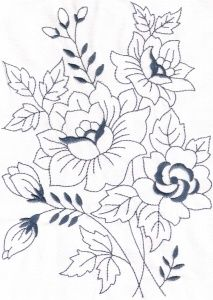 mexican embroidery pattern - Google Search                                                                                                                                                                                 More