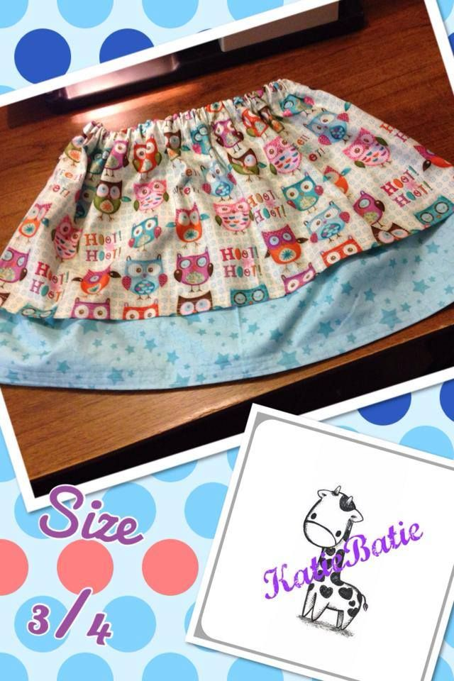 Starry Night Owl Skirt. Enchanted Forest Market Night opens at 9pm, on Tuesday 6th May, 2014