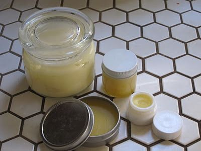 moisturizer: olive oil, beeswax, EO