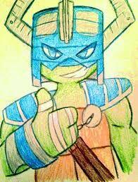 Image result for ninja turtle drawing leo