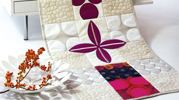 Anleitung/Pattern/ available in several languages - A project to get to know your Quilt Expression 4.2