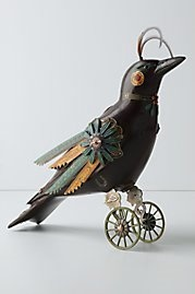 steampunk bird upcycle...fun!