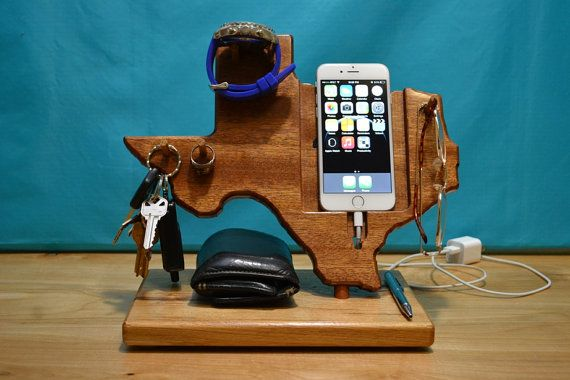 Fathers Day Gift, Gifts For Dad, Gift For Husband, iPhone 6 Docking Station, Mens Gift Android Phone