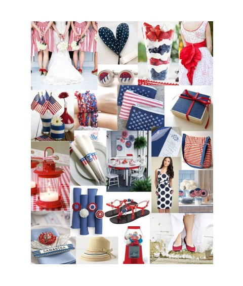 Americana and patriotic party ideas, perfect for Memorial Day weekend.